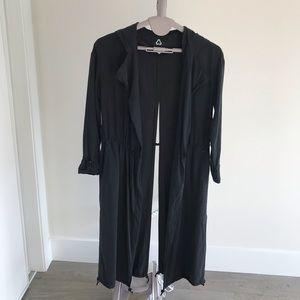 LIKE NEW! TITIKA Long Hooded Jacket / Coat